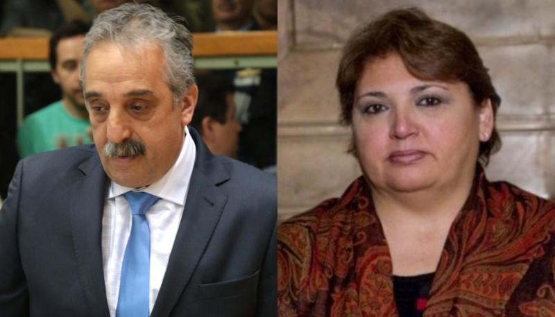 Matías Mazú y María Esther Labado.