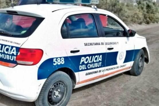 Patrullero de Chubut.