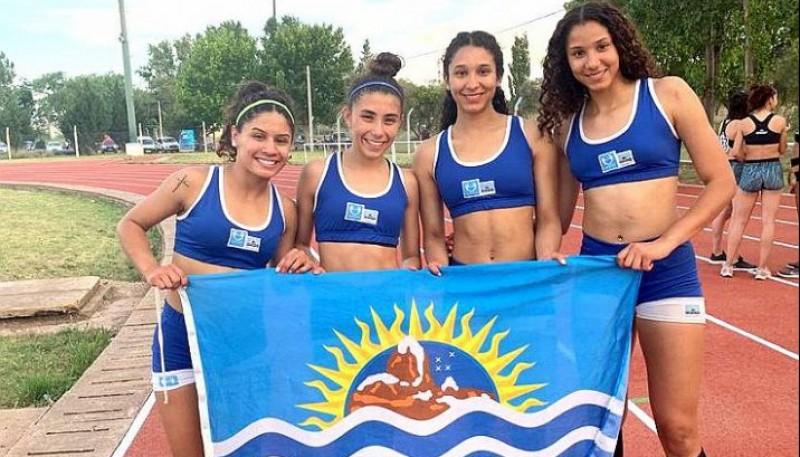 Las medallistas de Santa Cruz.