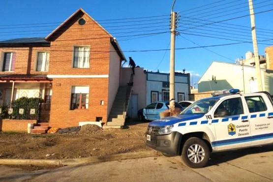 Segunda vivienda allanada por el hombre herido.