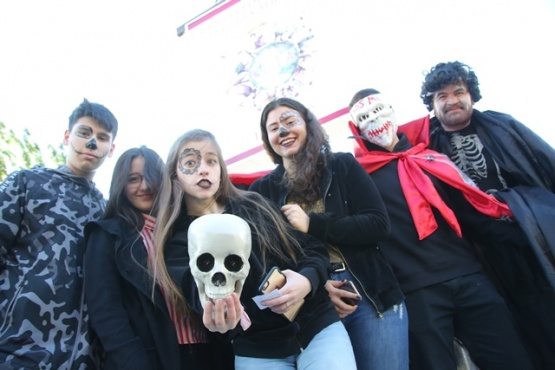 Jornada de diversión y terror. (Foto C.G.)