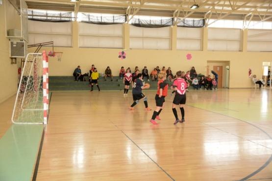 Liga municipal de fútbol.