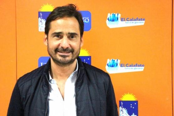 Alexis Simunovic, secretario de Turismo de El Calafate.