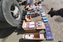 Aduana incautó un contrabando millonario de celulares