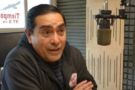 Fernando Alturria en Tiempo FM. (Foto C.R.)