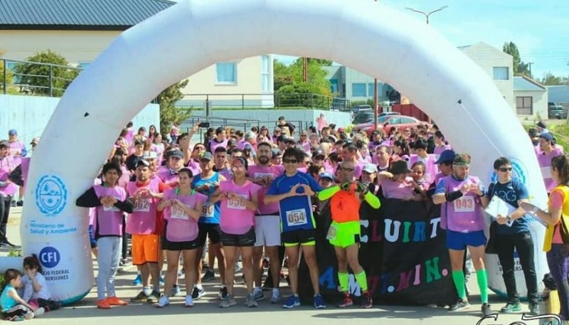 La segunda edición de la maratón saludable en Río Gallegos.