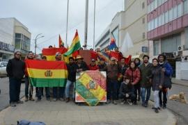 Desde Río Gallegos, bolivianos piden terminar con la violencia