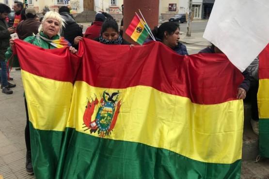 ATE participó de la marcha por Bolivia.