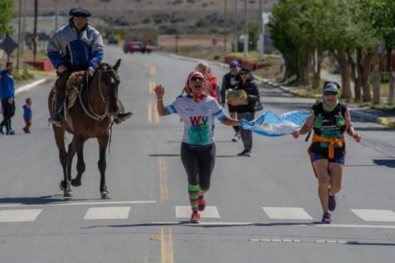 Corredores participaron de la Maratón Sustentable.