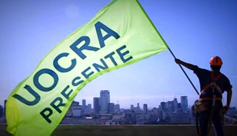 Bandera de UOCRA.x