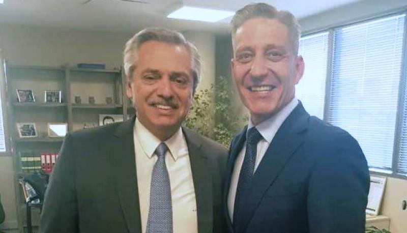El Gobernador de Chubut Mariano Arcioni se reunió con el Presidente electo Alberto Fernández