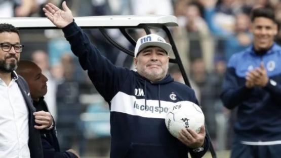 Maradona dijo adiós.