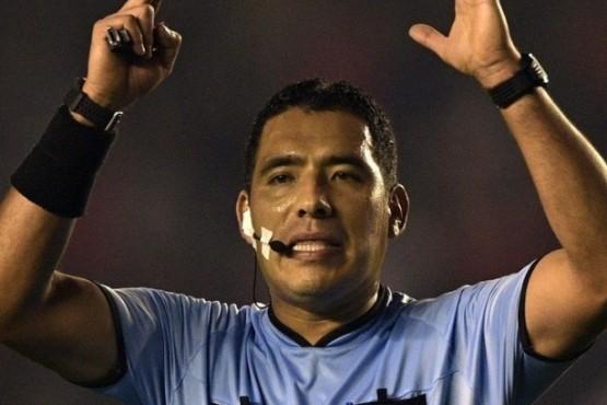 Diego Haro fue sacado como referí principal del VAR