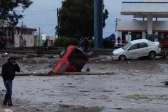 Inundación marzo del 2017 (Foto Telám)