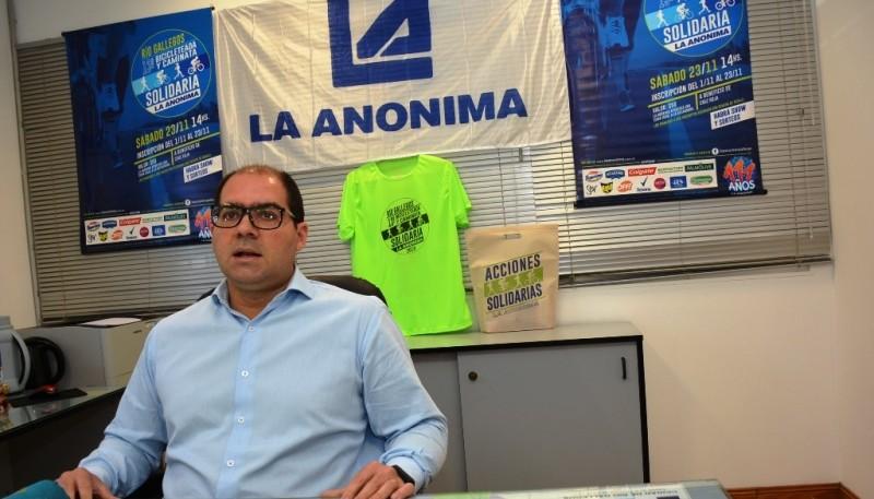Marcos López Delpero, Gerente Zonal de La Anónima.