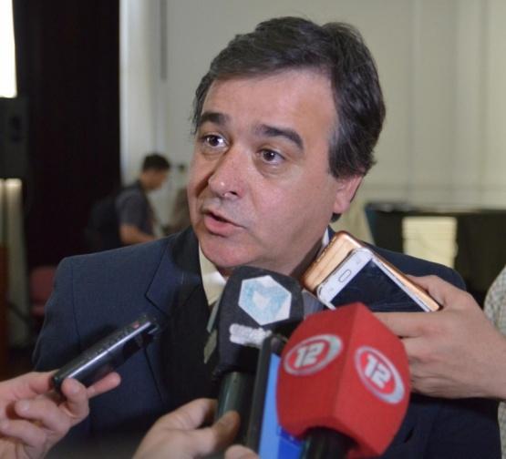 Ministro de Educación del Chubut, Andrés Meiszner.