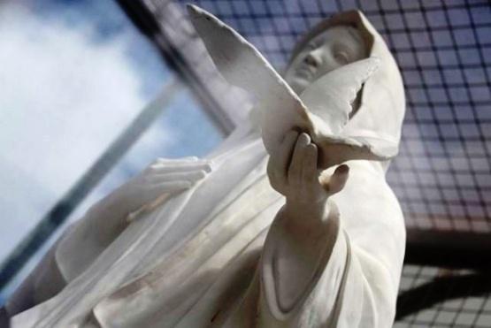Virgen de Güer Aike (Foto archivo).