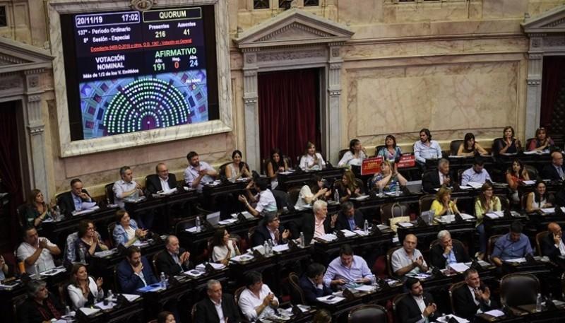 Cámara de Diputados de la Nación.