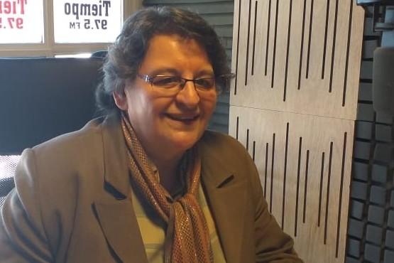 Patricia Aguirre dialogó con Tiempo FM.