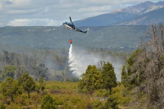 Chubut trabaja de cara a la temporada de incendios forestales