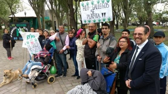 Se concentraron en la Plaza San Martín.