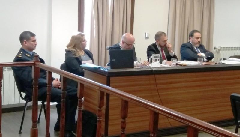 Los imputados estuvieron presentes durante el debate.