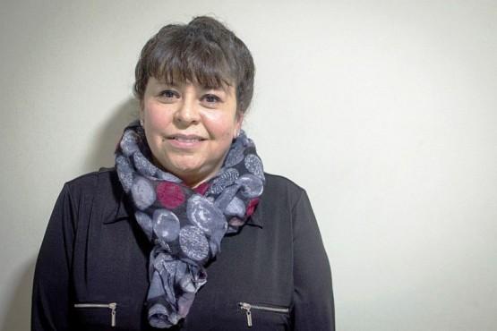 Es una de las dos concejalas electas en el HCD.