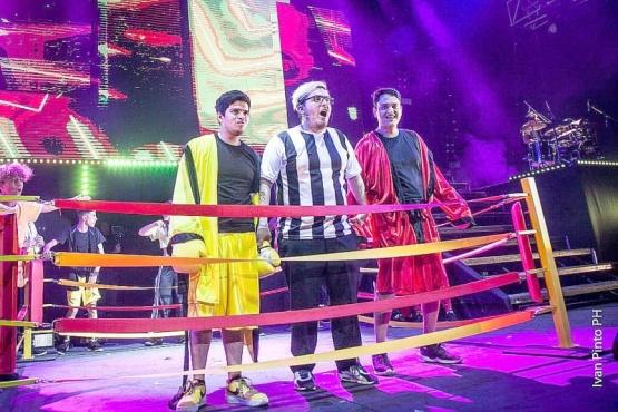 Niko Bizarro y una nueva gran noche en el Teatro Luna Park