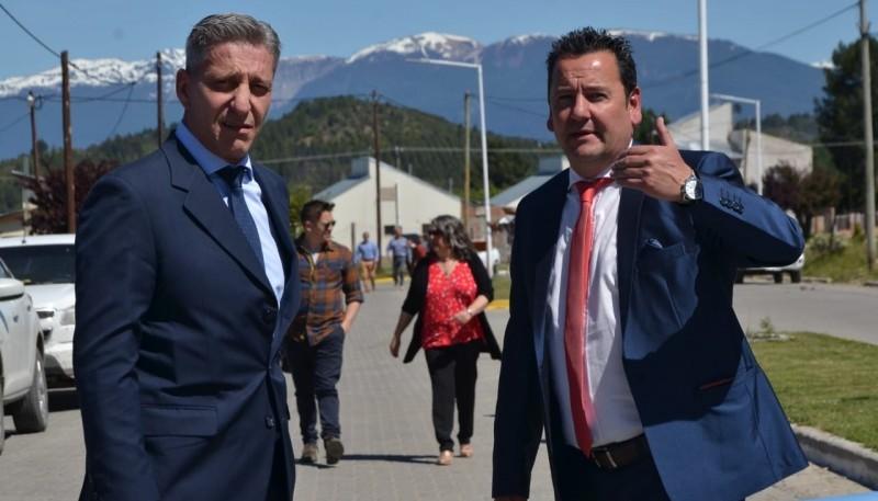 Mariano Arcioni y Ariel Molina.