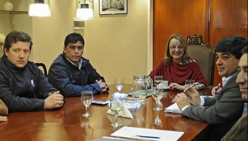 Alicia Kirchner y Claudio Vidal
