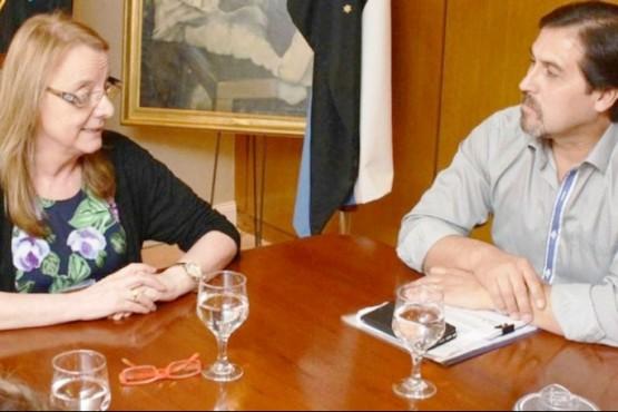 Alicia Kirchner y Gustavo González (Foto archivo).