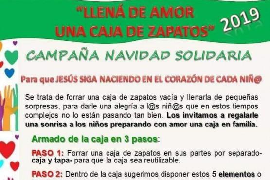 Campaña de una navidad solidaria.