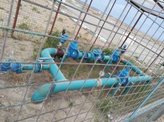 Vecinos preocupados por la falta de agua