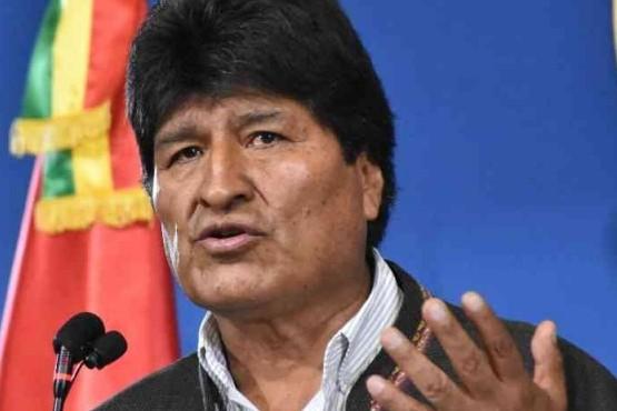 Evo Morales renunció a su candidatura.