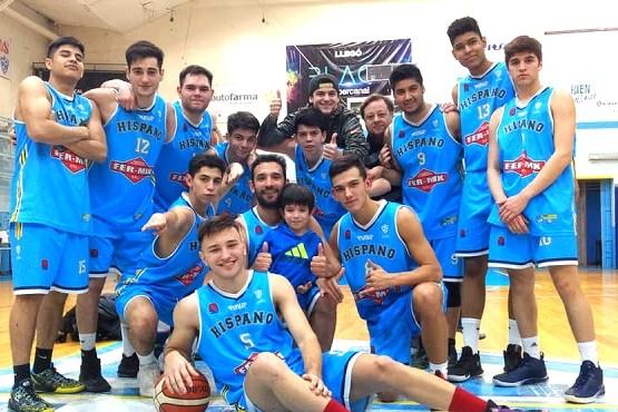 El equipo de Hispano Americano en LIBAR.