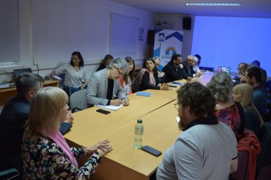 Culminó ayer la visita del Comité de Pares Evaluadores a la Universidad Nacional de la Patagonia Austral.