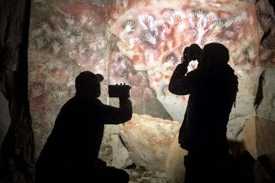 La Cuenca del Río Pinturas también forma parte una nueva producción audiovisual en una plataforma de contenidos 360 realizadas a través de la producción de CONICET Documental.