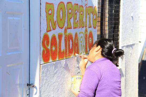 Roperito Solidario en el Barrio Madres a la Lucha (C.G).