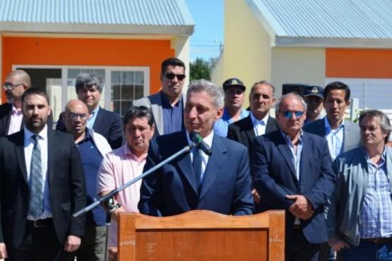 El gobernador Arcioni.