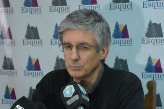 El intendente de Esquel, Sergio Ongarato.