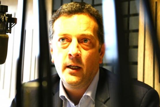 Perincioli fue entrevistado ayer en Tiempo FM.