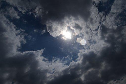 El clima nublado en la provincia.