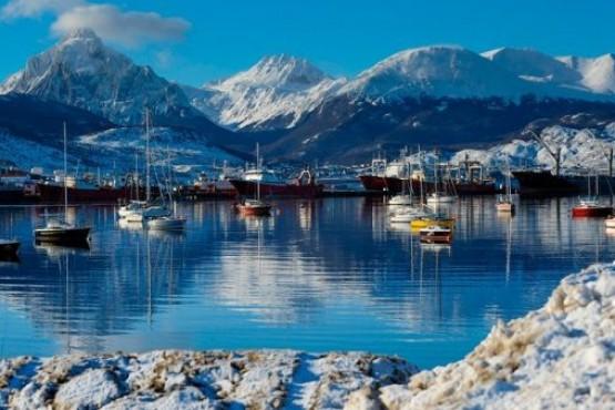 Viento y frío: el clima de hoy en Tierra del Fuego