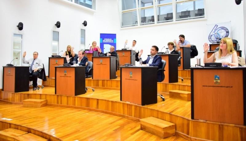 El aumento a los municipales se aprobó ayer en el Concejo Deliberante.