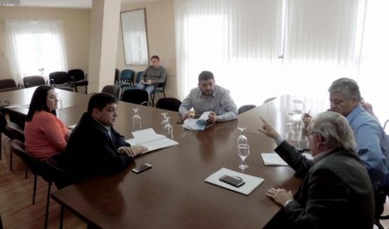 Reunión de comisiones.