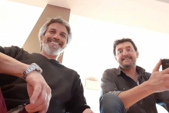 Horacio Córdoba y Alejandro Bonin