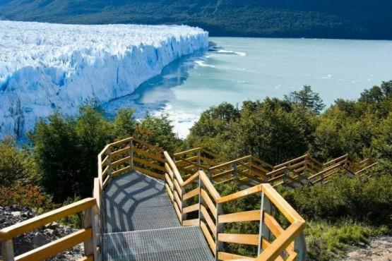 Los Glaciares en El Calafate.