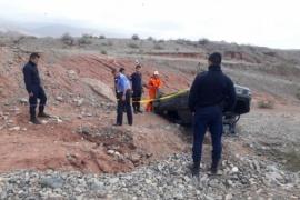 Joven santacruceño volcó en La Rioja