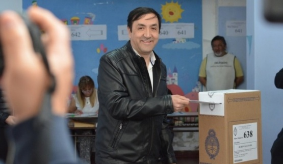 Intendente electo Pablo Grasso.