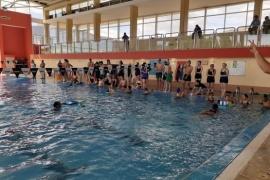 """Con gran participación se concretó """"Todos al agua"""" en El Calafate"""